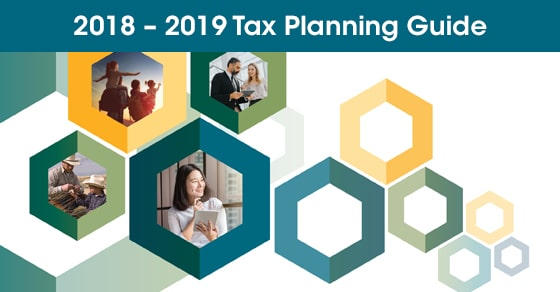 2018 Year End Tax Planning Guide is now available!