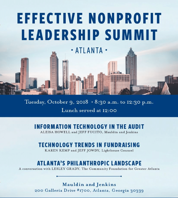 Effective Nonprofit Leadership Summit