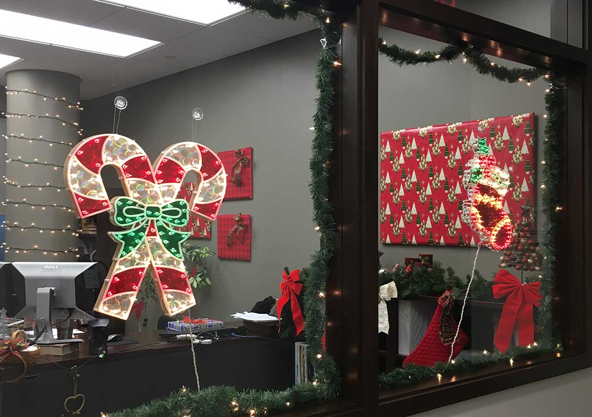 Bradenton Office Christmas Festivities