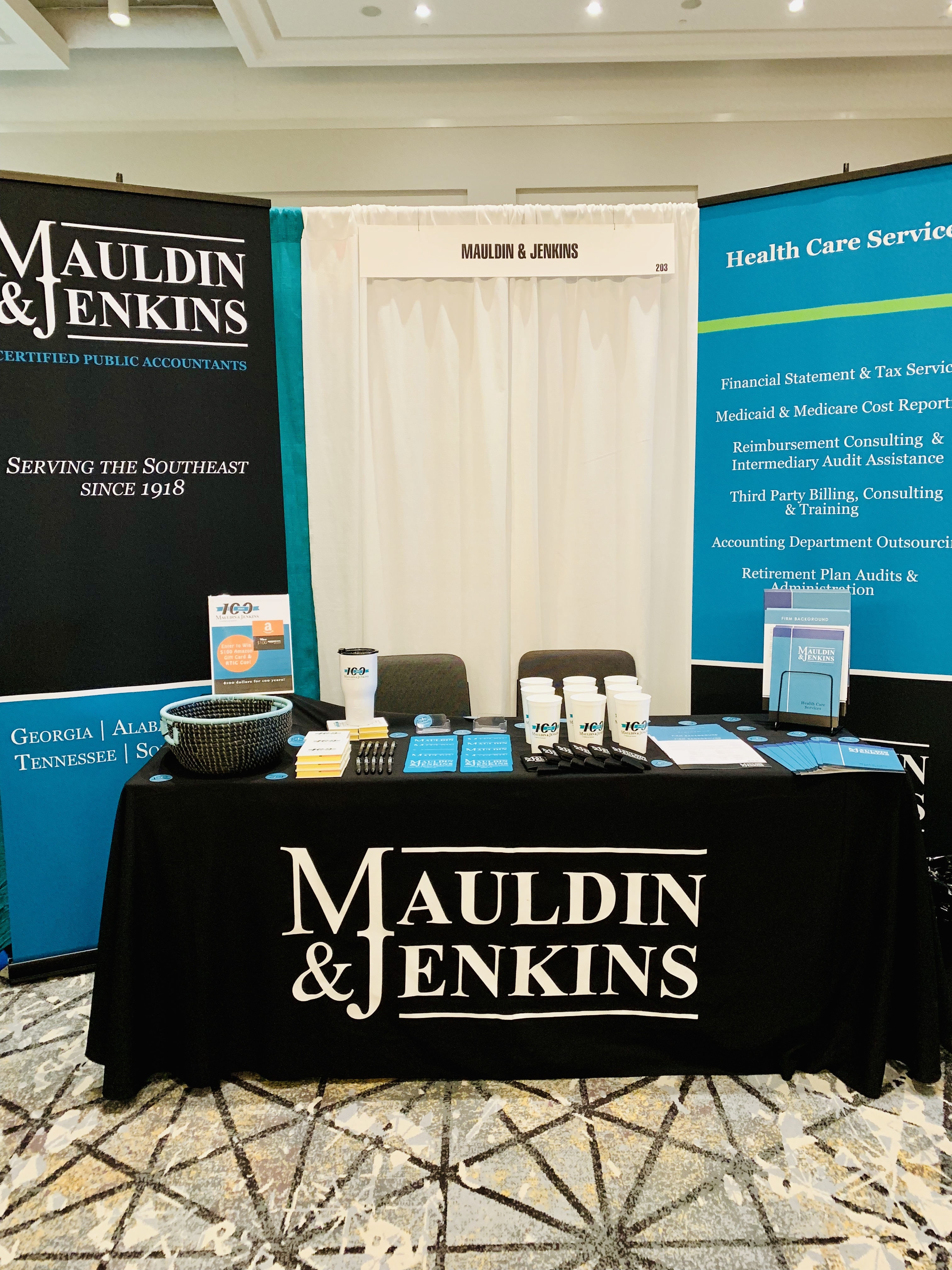 Mauldin & Jenkins Exhibits at GHCA/GCAL winter convention and trade show