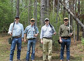 M&J team takes second place at CBA's spring clay shoot