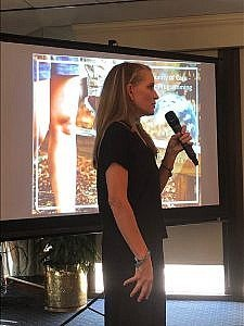 Amy O'Dell, Founder of Jacob's Ladder Speaks at Atlanta Office Meeting