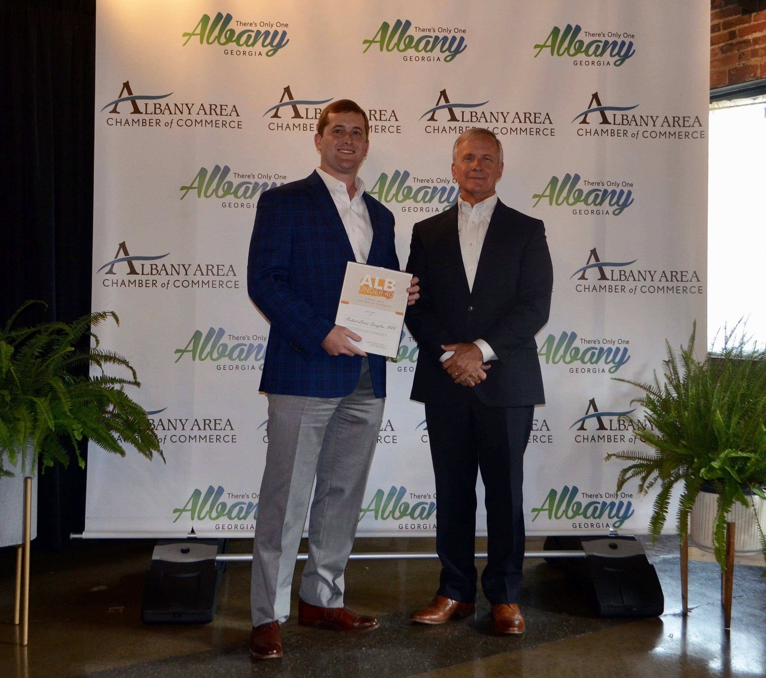 Rob Douglas of M&J Named Finalist for ALB Under 40