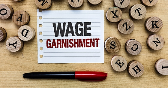 Some basics facts about wage garnishment