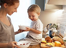 Tax credits may help with the high cost of raising children
