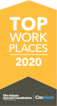 AJC 2020 Top workplace mauldin & jenkins