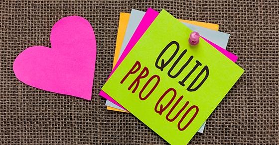 When nonprofit contributions are quid pro quo