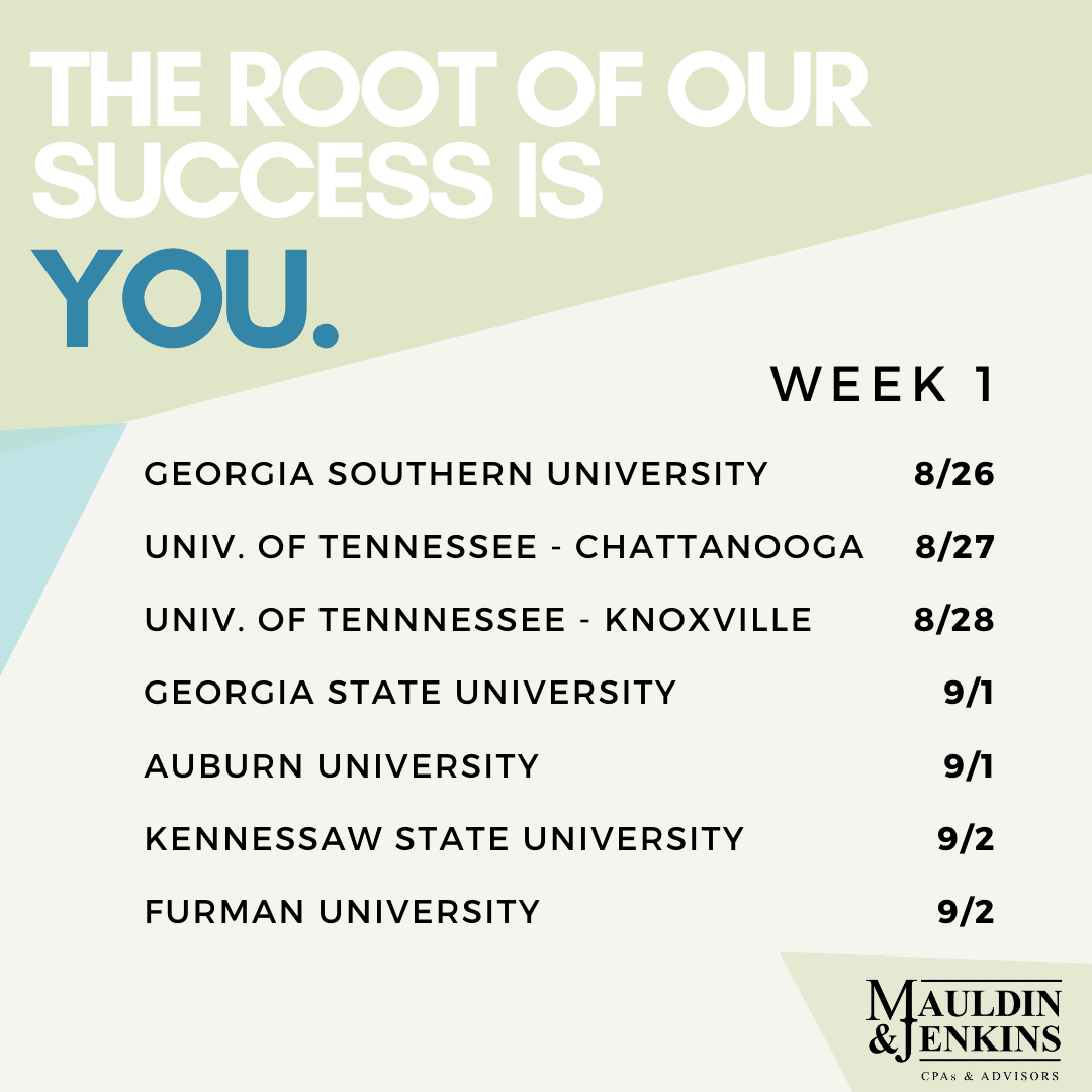 You are currently viewing Recruitment Schedule – Week 1