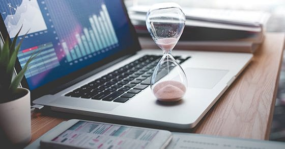 On-time financial reporting is key in times of crisis