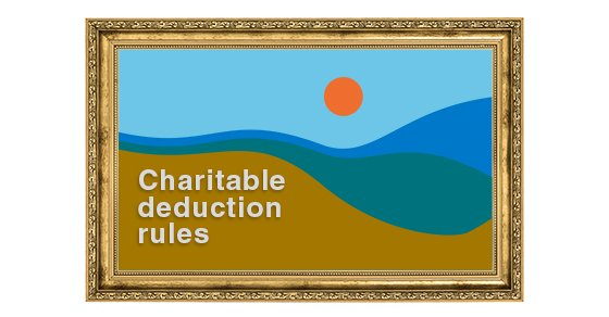 You are currently viewing Navigating the tax landscape when donating works of art to charity