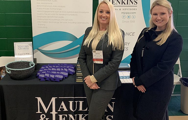 Mauldin & jenkins aleisa howell sponsors gisa annual conference